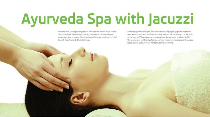Face Holiday Village | Villas in Ooty | Brochure | Page - 24 | Ayurveda Spa with Jacuzzi