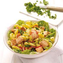 Weight Watchers - Aardappelsalade met zalmblokjes - 9pt