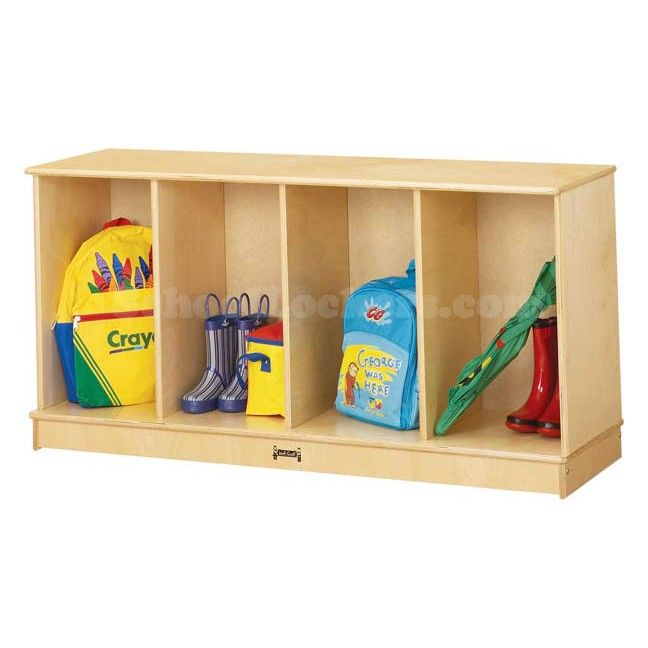 Kids Stackable Cubby Lockers For Sale! Each Unit Provides Storage Space For  Four Children. Stack Up To Three High For Added Storage In Same Amount Of  Space!