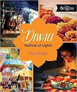 During Diwali, Hindus, Sikhs and Jains celebrate the legends and stories that describe the triumph of good over evil and justice over oppression. Enriched by personal stories and spiced with festive recipes, Diwali: Festival of Lights brings to life the holiday's traditions, food and rituals and takes you on a journey to see how this festival is celebrated around the world! (Grades: 4-6) Call number: BL1239.82.D58 S56 2016