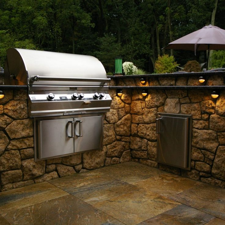 Track Lighting For Outdoor Kitchen