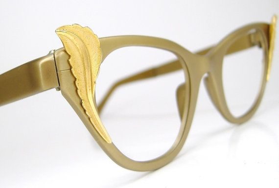 Vintage 50s 60s Tura Cat Eye Eyeglasses