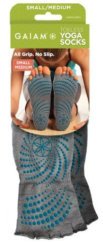 Gaiam Toeless Grippy Yoga Socks Gaiam,http://www.amazon.com/dp/B008EADJPG/ref=cm_sw_r_pi_dp_EbNPsb12K9M5ESKJ