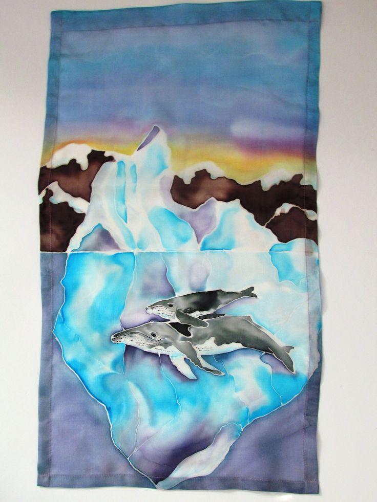 Tip of the Iceberg Wall Hanging