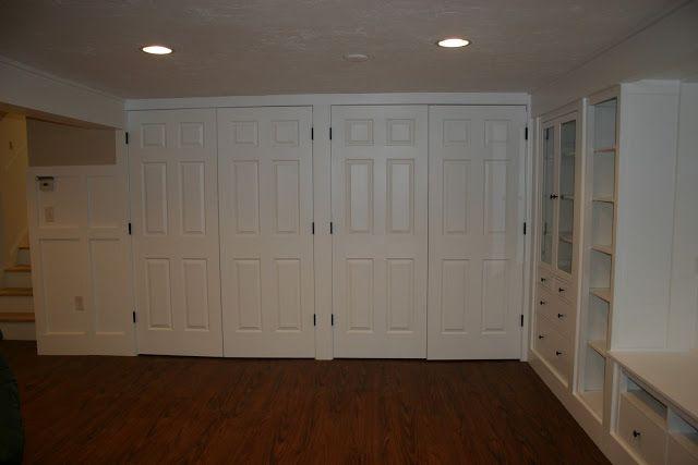 17 best images about walkout basement ideas on pinterest for Basement closet ideas