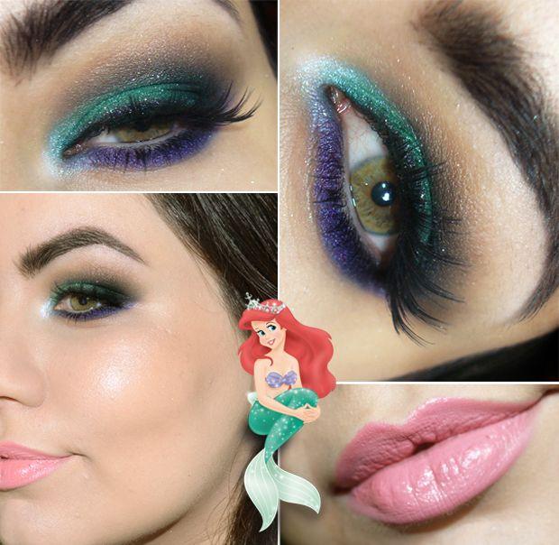 Tutorial: Maquiagem inspirada na Pequena Sereia