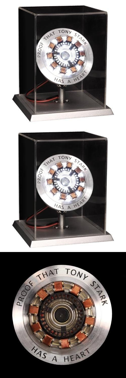 Officially Licensed Marvel Iron Man Movie Arc Reactor Prop Replica with Display Life Size Limited Edition, The arc reactor supplies energy to an electromagnet, which prevents embedded shrapnel from reaching Tony Stark's heart. Upon escape, Stark retreats from public view, focusing on the design of his late..., #Toys, #Collectible Figurines