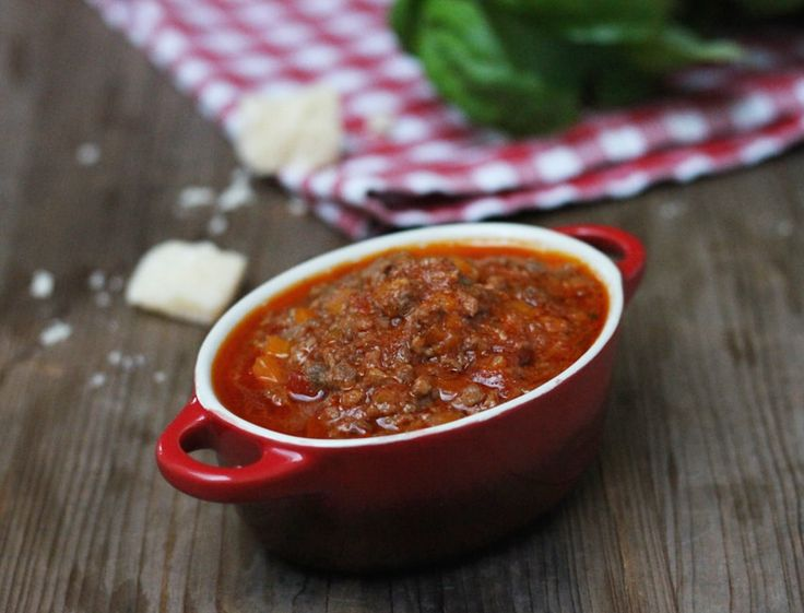 Soulfood pur: die echte Pasta Bolognese