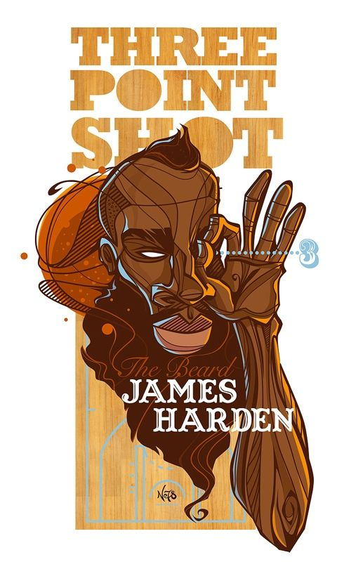 James Harden 'Three Point Shot' Character Design