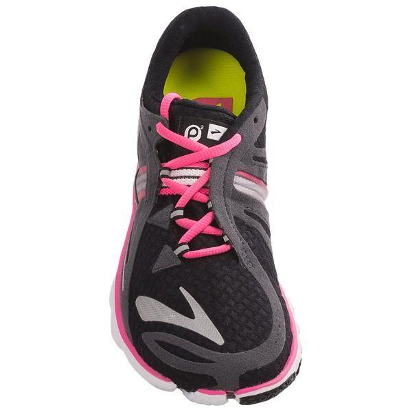 Purple And Neon Yellow Brooks Women S Running Shoe