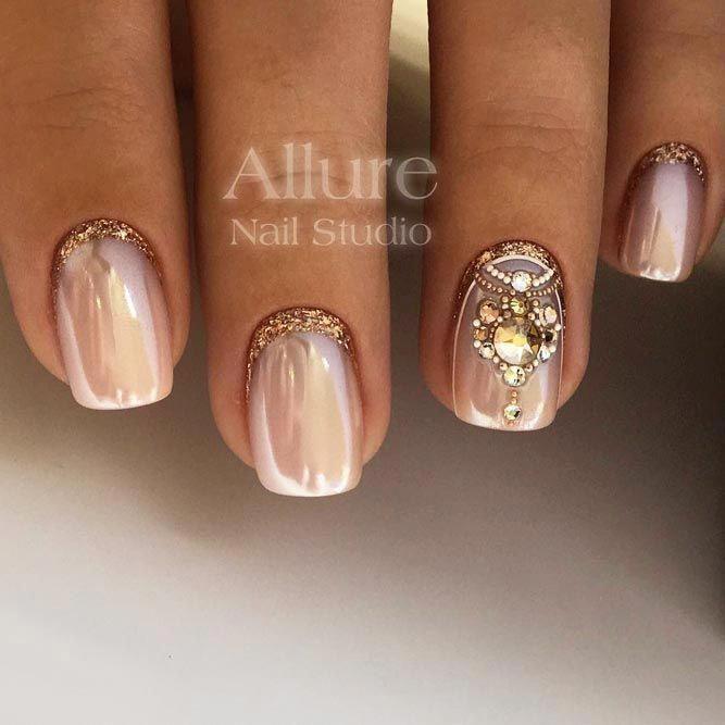 #mariage   – wedding nails ideas