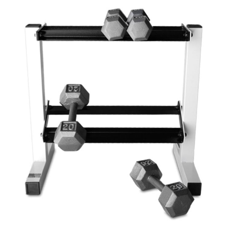CAP Barbell 150 lb. Hex Dumbbell Set with Rack - SDGS-150R