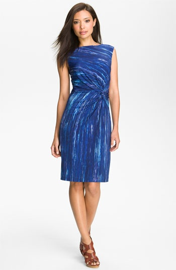 Chaus Print Twist Jersey Dress available at #Nordstrom    ***AND IT'S ON SALE : ) ***