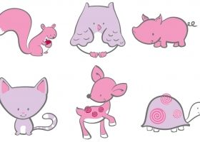 Steph Calvert/Animal Characters for Twirls and Twigs represented by Liz Sanders Agency