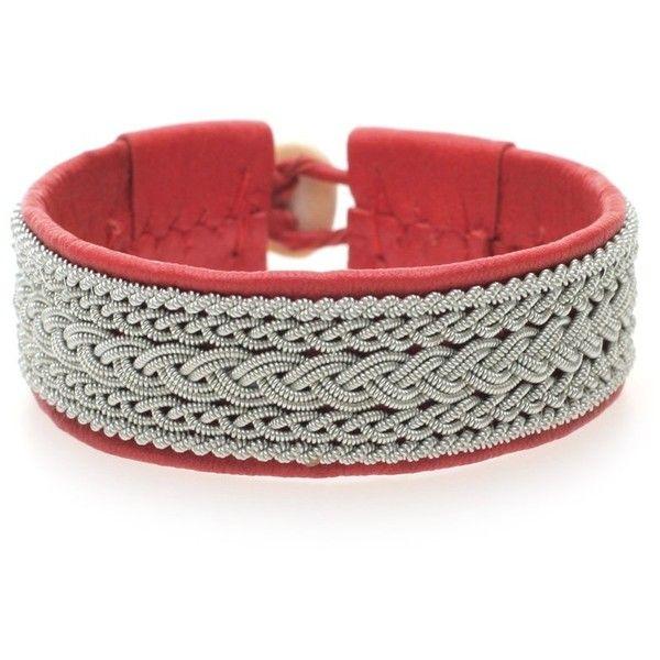 MARIA RUDMAN Bracelet Red ($405) found on Polyvore