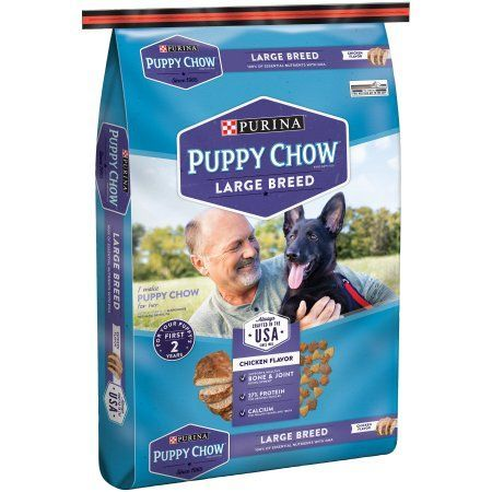 Purina Puppy Chow Large Breed Formula Puppy Food 16.5 lb. Bag