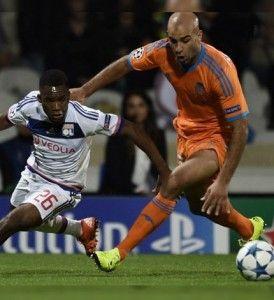 Contraint de sortir en cours de match lors de la victoire contre Lyon mardi en Ligue des champions (1-0), Aymen Abdennour souffre d'une blessure...