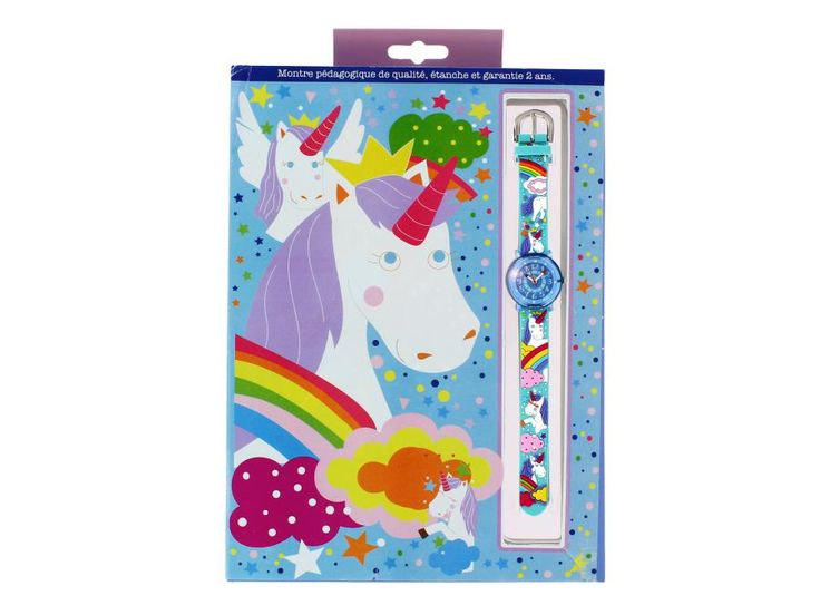 Babywatch - Montre pédagogique Zap Licorne #babywatches #montre #licorne #enfants #cadeauxnoel  #cadeauxdenoel