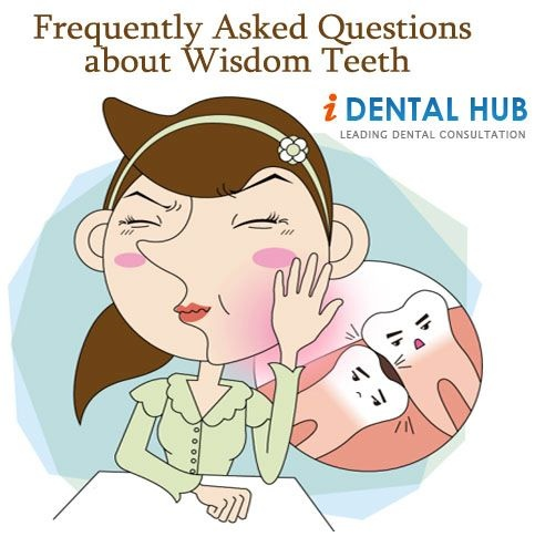 Wisdom teeth are last teeth to come in mouth and may cause problems. Most frequently asked questions by patients about wisdom teeth are enlisted here. These FAQs will provide answers to all your queries about wisdom teeth.