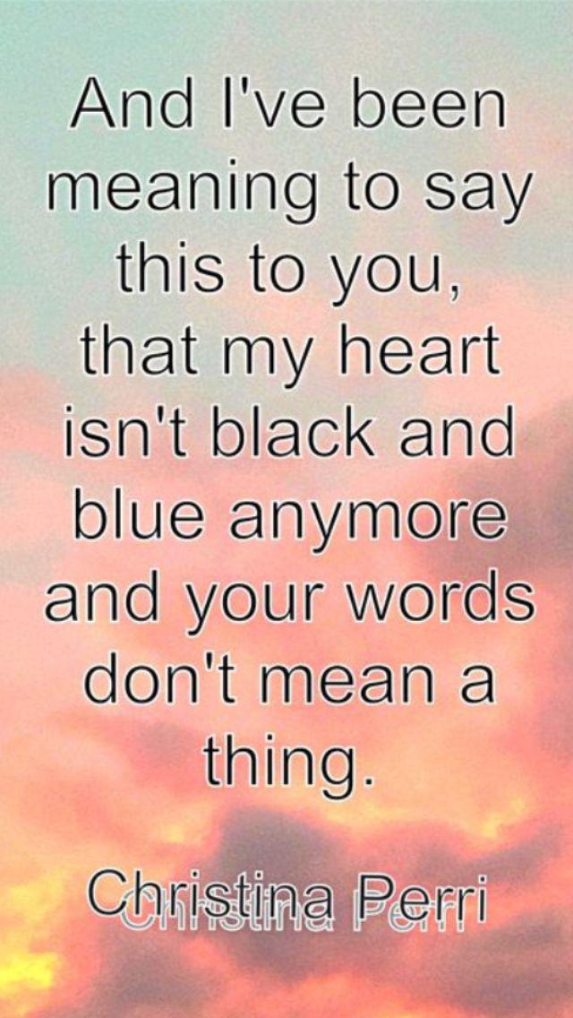 Lyric birds courting song lyrics : 23 best Christina Perri images on Pinterest | Music lyrics, Song ...