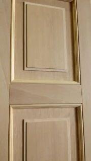 Pannello costruito artigianale in legno grezzo (particolare)