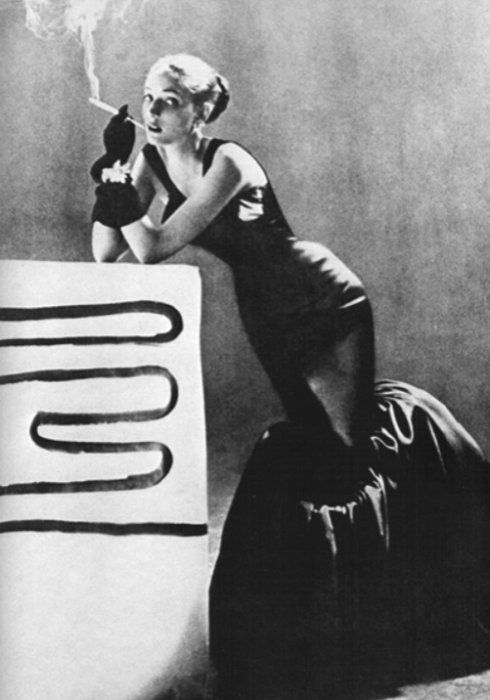 Tulip dress by Charles James, c. 1950s. Photograph by Richard Avedon
