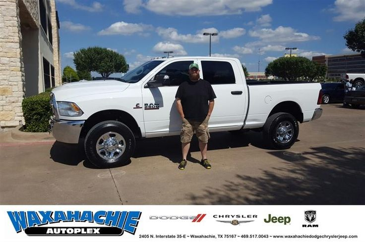 Happy Anniversary to Eric on your #Ram #2500 from Shaun Schultz at Waxahachie Dodge Chrysler Jeep!  https://deliverymaxx.com/DealerReviews.aspx?DealerCode=F068  #Anniversary #WaxahachieDodgeChryslerJeep