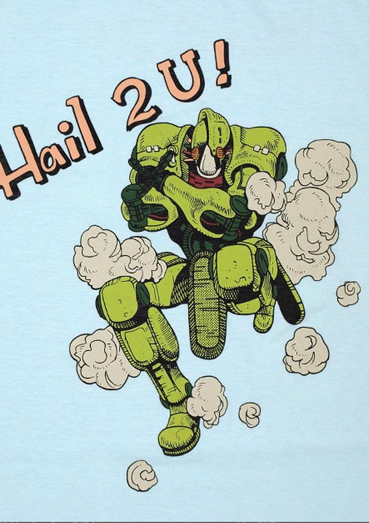 「カメオ」のスタンド『ジャッジメント』がランプから飛び出す様を再現。相手の願いを土に投影して叶える能力を持つ。Hail 2 U !!(君に幸あれ !!)