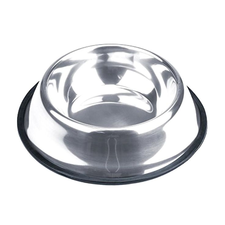 Dog Bowls Weebo Pets Stainless Steel Bowls No-Tip Food Bowls 16oz. Rover #WeeboPets