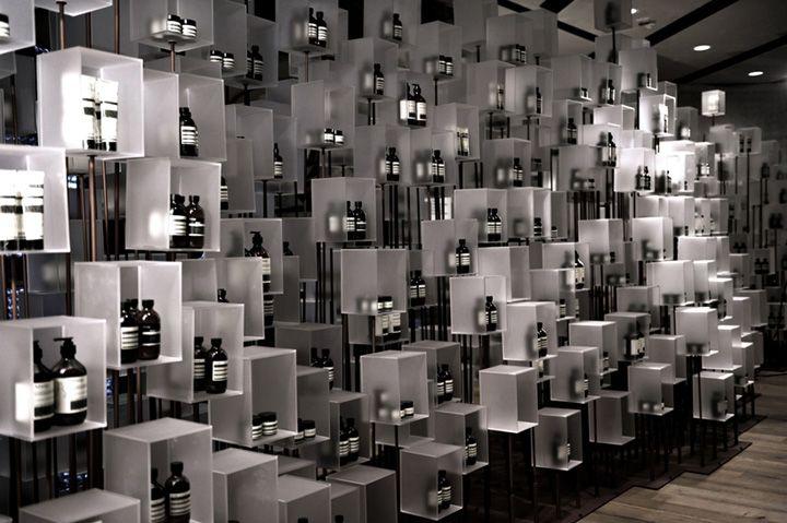 Aesop installation by Cheungvogl Hong Kong