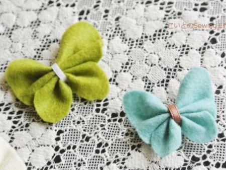 簡単!フェルトのお花&チョウチョの作り方|暮らしニスタ