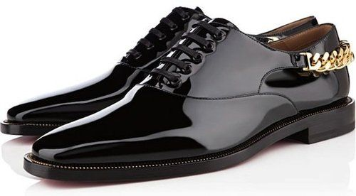 Christian Louboutin OxfordStaging Flats, Patent Leather, Louboutin Staging, Men Fashion, Men Shoes, Christian Louboutin, Leather Shoes, Flats Oxfords, Christianlouboutin