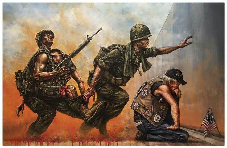 El Vietnam Memorial en BHM http://bellumartis.blogspot.com.es/2012/06/monumento-los-veteranos-de-vietnan.html?m=1 (obra DON NANCE)