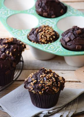 Gateau au chocolat facon muffin