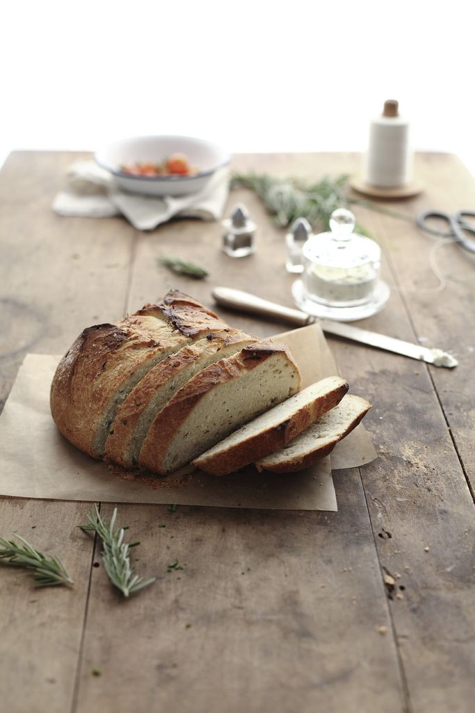with butter... alwaysButter Blog, Breads Recipe, Breads Flour, Sea Salts, Rosemary Breads, Pioneer Women, Baking Breads, Herbs Breads, Pioneer Woman Recipe