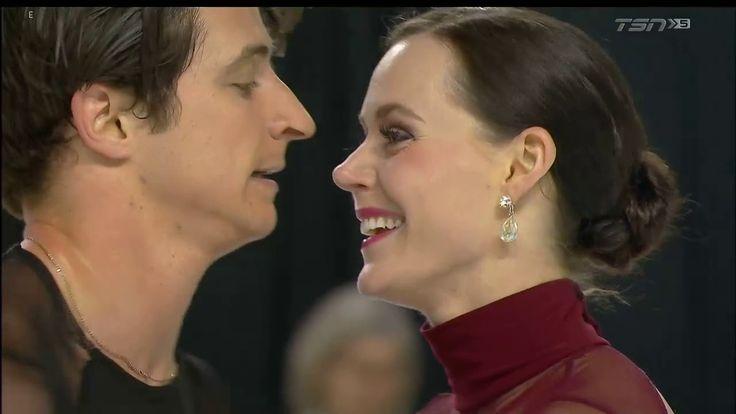 Tessa VIRTUE / Scott MOIR Free Dance 'Moulin Rouge' Canadian Skating Nat...