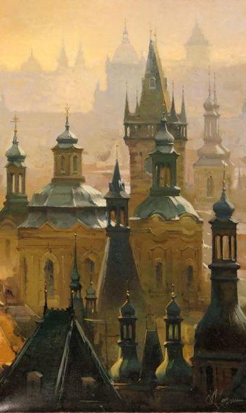 Andrej Chernysh - City of Spires