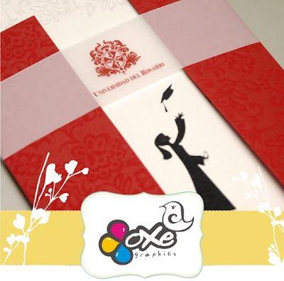 Tarjetas de matrimonio-Invitaciones: grado