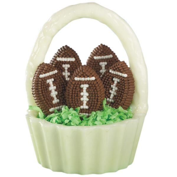 Spring Football Cereal Treat