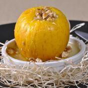 Pommes farcies aux coings et aux noix - une recette Fruit - Cuisine