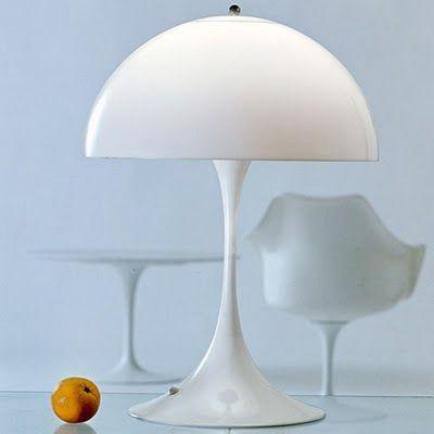 Verner Panton Panthella Table Lamp  Louis Poulsen Denmark