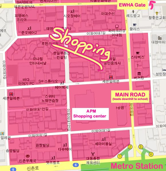Let's Go Shopping in Edae 이대 ♥