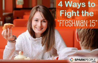Fend Off the ''Freshman 15'' with these Tips for College Students   via @SparkPeople #university #diet #weight #school