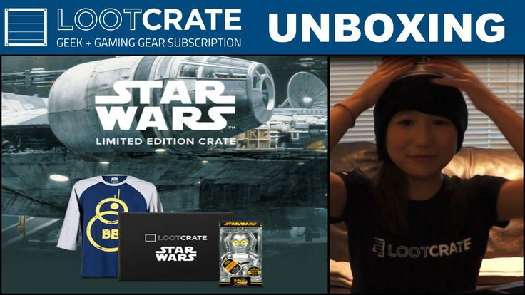 *Limited Edition* - Star Wars Loot Crate