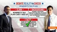 "#62 Oct. 4-Romney $17,000 Deduction Limit Part of Three-Cap Concept;    3:15  Oct. 4 (Bloomberg) - -Bloomberg's Hans Nichols checks the facts on claims made by President Barack Obama and Republican nominee Mitt Romney in the first presidential debate. He speaks on Bloomberg Television's ""In The Loop."""
