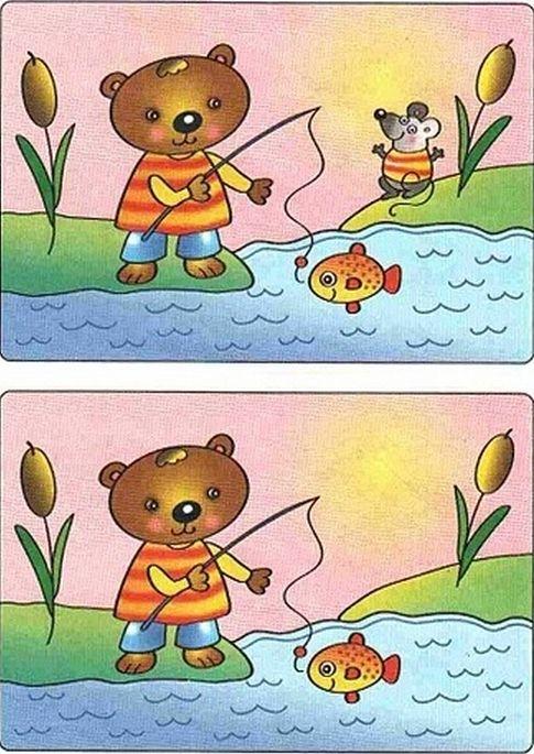 картинки для детей найди отличия (5) (485x685, 847Kb)