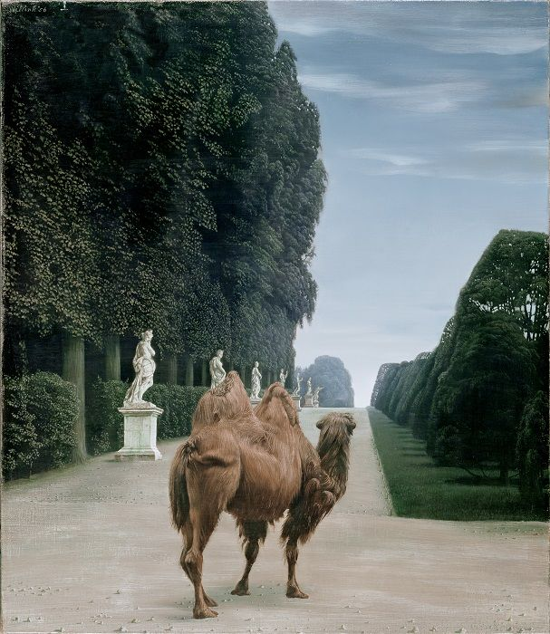 Carel Willink, Kameel in het park van Versailles, 1956. Collectie Museum MORE. © Sylvia Willink-Quiël