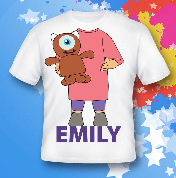 monster inc shirt.  boo shirt.  monster inc gift. monster inc costume.  monster inc birthday by leticiashop on Etsy https://www.etsy.com/listing/473044607/monster-inc-shirt-boo-shirt-monster-inc