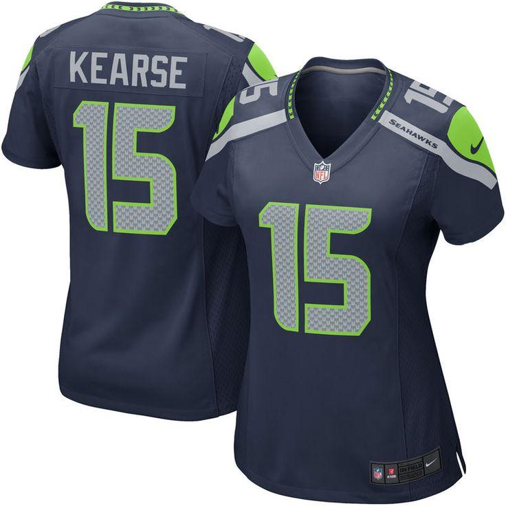 Jermaine Kearse Seattle Seahawks Nike Women's Game Jersey – College Navy