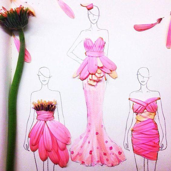 fashion designer sketches - Google Search
